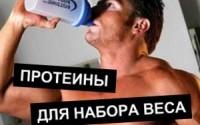 протеиновые коктейли для набора веса