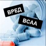 Вред BCAA